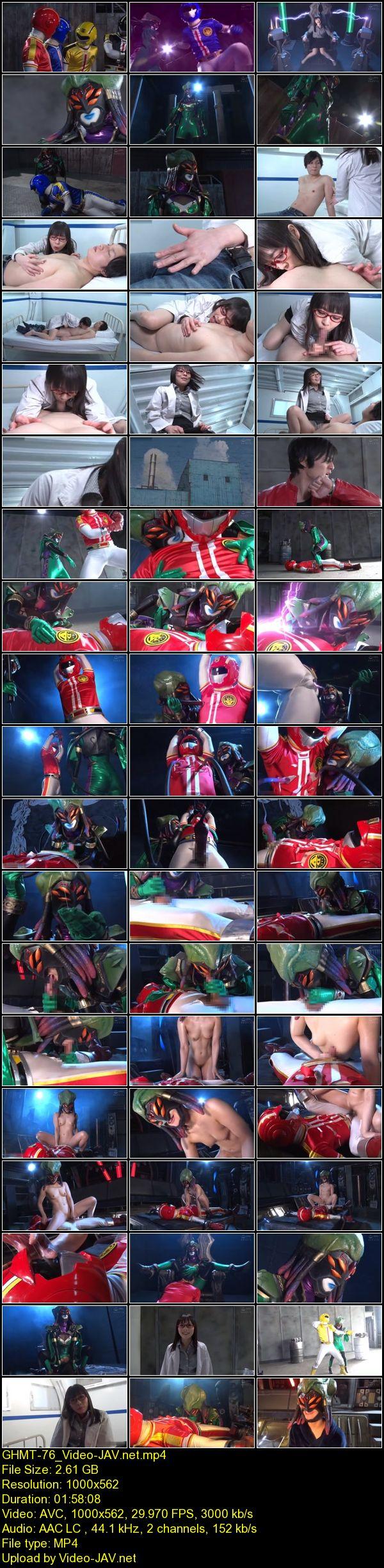 JAV Download Miori Hara [GHMT 76] ヒーロー陥落 魅惑の女怪人ナーシャ 爆裂戦隊タイガマン壊滅作戦 2021 04 15
