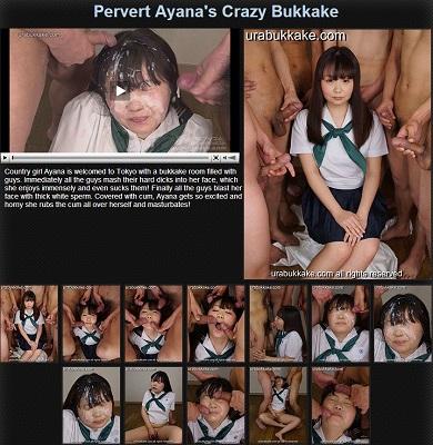 JAV Download Ayana – urabukkake Pervert Ayana's Crazy Bukkake Gangbang 輪姦