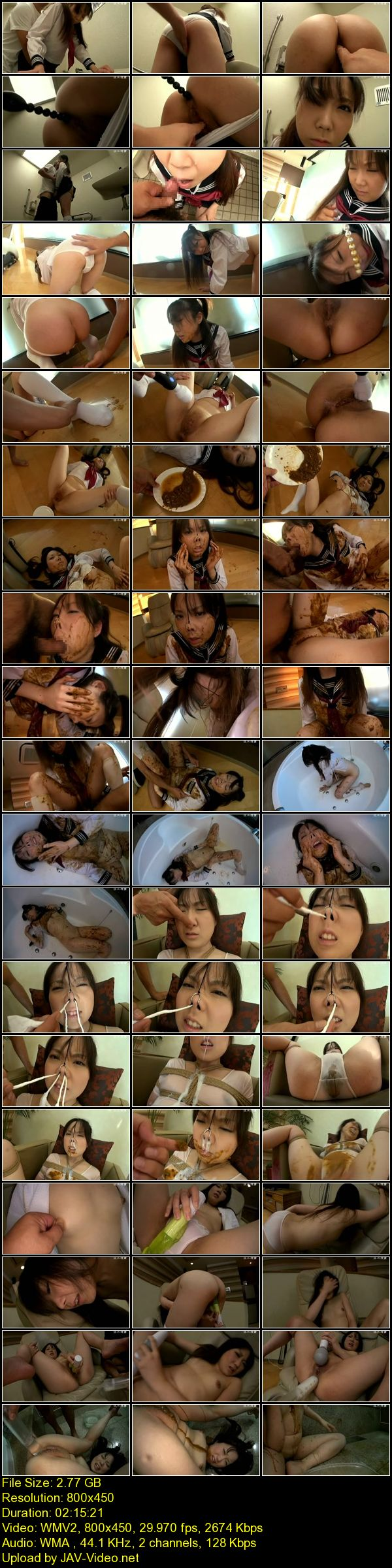 JAV Download Amateur [GKD 25] ○女汚辱 Enema 浣腸 135分 陵辱 Scat 2013 02 01