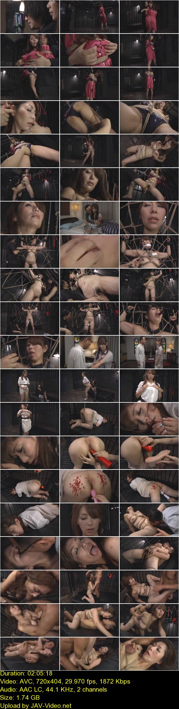 JAV Download Chisato Shoda [GTJ 037] 縄に寝取られた妻 翔田千里 Planning Irama Mature 凌辱 Chisato Shouda Torture 2014 10 19