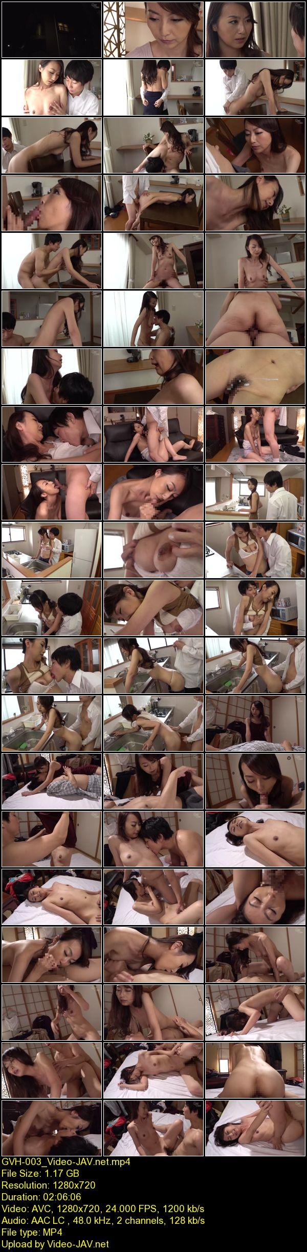 JAV Download Rei Aoki [GVH 003] 母子姦 息子への愛情不足をセックスで償う美人母 豆沢豆太郎 近親相姦 2020 01 02