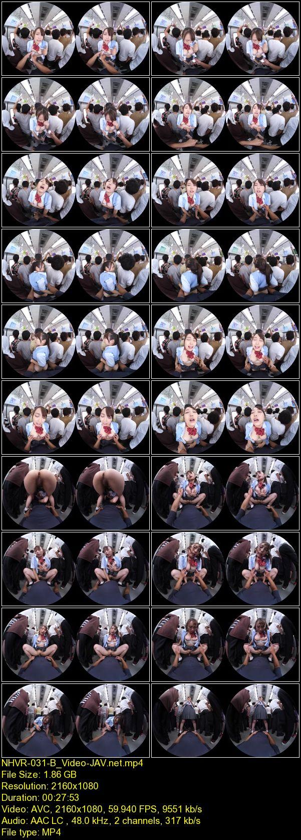 JAV Download [NHVR 031] 【VR AV】乳首いじり痴漢 VR ~コリコリ刺激され続け発情する敏感女~ 2019 01 25