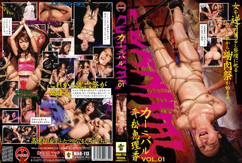 JAV Download Erika Hiramatsu [MAD 113] CARNIVAL 01 SM 調教 MADR 2011 01 01