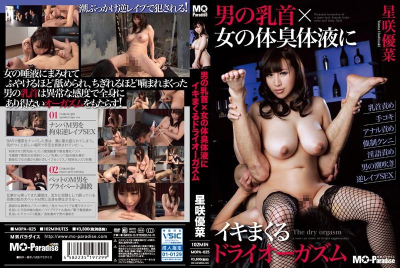 JAV Download Yuuna Hoshisaki (Kotone Aizawa) [MOPA 025] 男の乳首×女の体臭体液にイキまくるドライオーガズム 監禁・拘束 Rape 2015 05 13