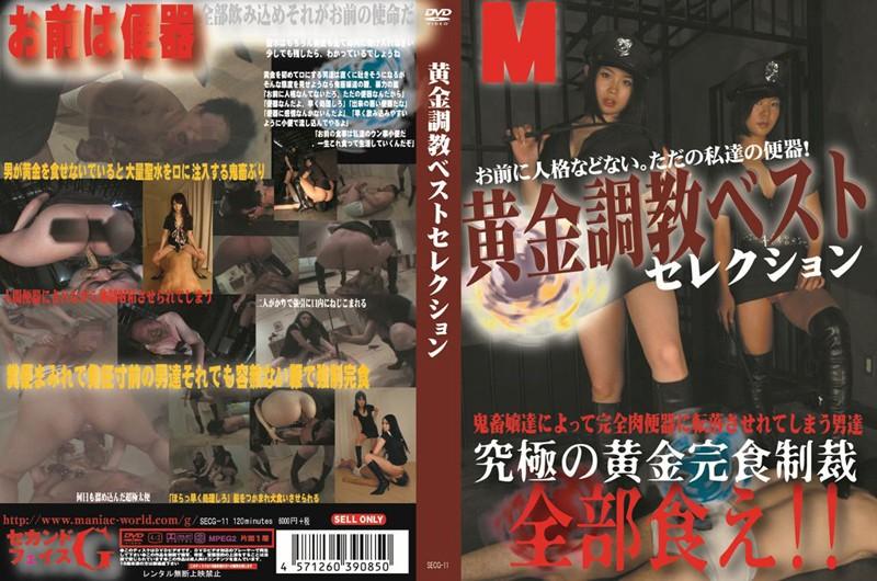 JAV Download Amateur [SECG 11] 黄金調教ベストセレクション Rape フェチ Golden Showers スカトロ Torture 2013 12 15