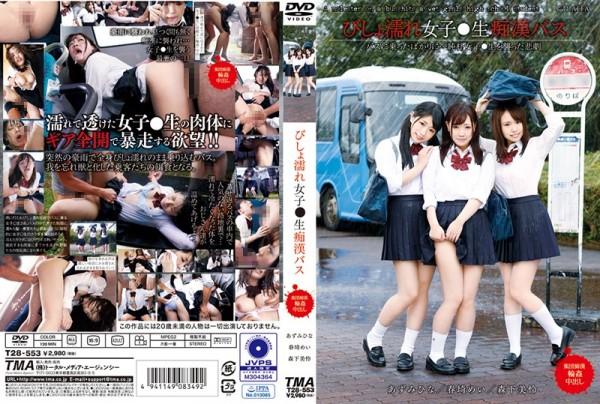 JAV Download [T28 553] びしょ濡れ女子●生痴漢バス 女子校生 Pervert TMA 2019 02 22