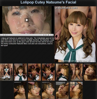JAV Download Natsume – urabukkake Lolipop Cutey Natsume's Facial